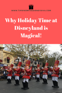 Why Holiday Time at Disneyland is Magical!
