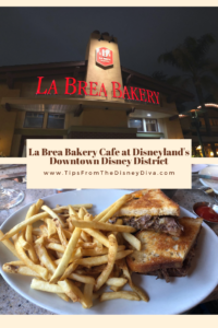 La Brea Bakery Cafe at Disneyland's Downtown Disney District