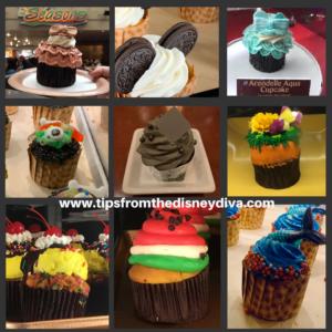 Cupcakes, Disney World Cupcakes, Disney Cupcakes, Seasonal Cupcakes, Themed Cupcakes, Disney Resort Cupcakes, Disney Parks Cupcakes