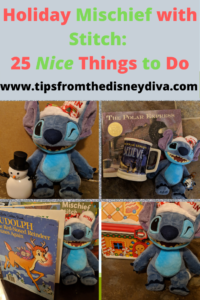 Holiday Mischief with Stitch- 25 Nice Things to Do