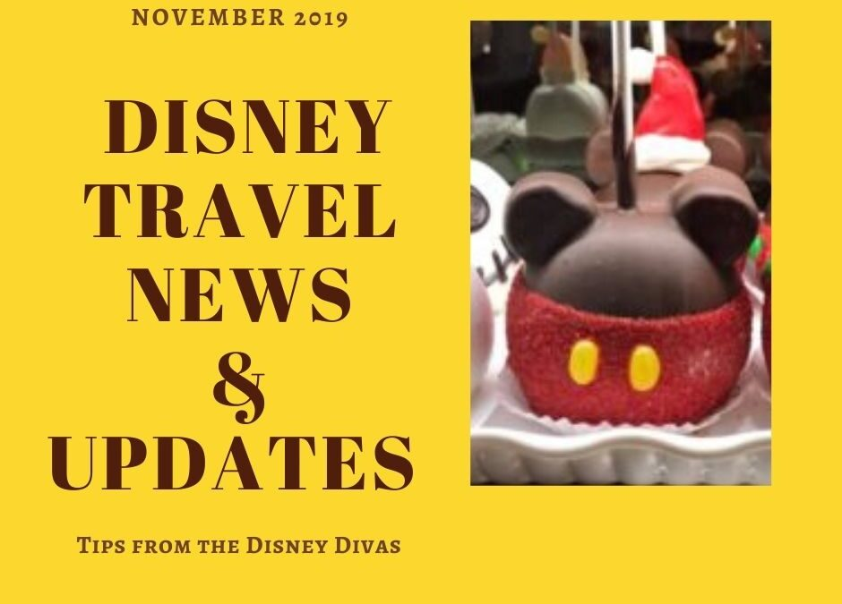 Disney Travel News & Updates Highlights from November 2019