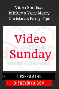 Video Sunday: Mickey's Very Merry Christmas Party Tips