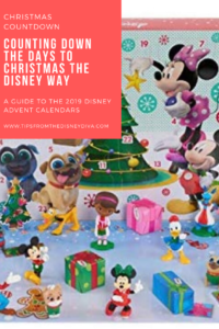 Counting Down to Christmas the Disney Way