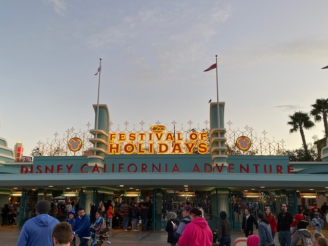Festival of Holidays at Disney California Adventure Park