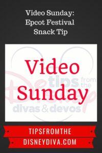 Video Sunday: Epcot Festival Tip