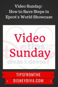 Video Sunday: How to Save Steps in Epcot's World Showcase