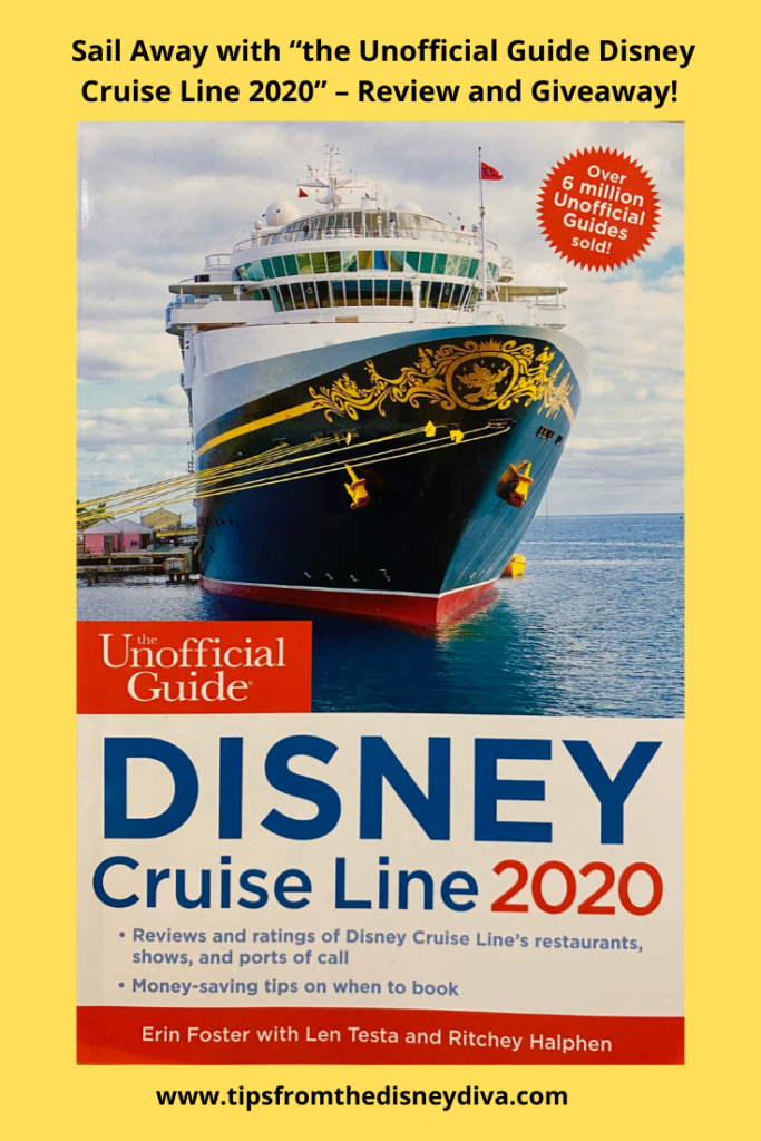"Sail Away with ""the Unofficial Guide Disney Cruise Line 2020"" – Review and Giveaway"