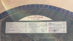 EPCOT's La Cantina De San Angel quick service restaurant
