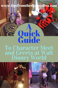 Quick Guide to Characters at WDW