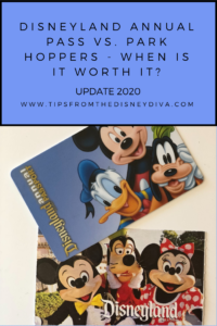 Disneyland Annual Pass vs. Park Hoppers - When Is It Worth it? Update 2020