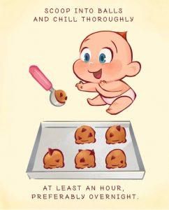 Making Jack-Jack Num Num Cookies