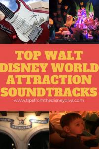 Top Disney World Attraction Soundtracks