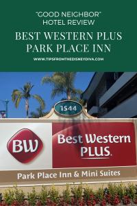 "Best Western Park Place Inn ""Good Neighbor"" Hotel Review"