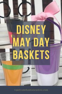 Disney May Day Baskets