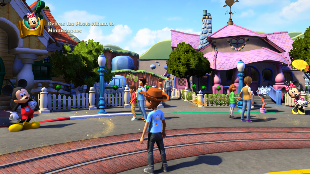 Virtual Trip to Disneyland