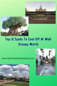 12 spots to take a break at Walt Disney World