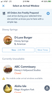 Mobile Order Appp