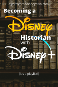 Becoming a Disney Historian