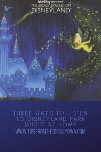 Three Ways to Listen to Disneyland Park Music at Home