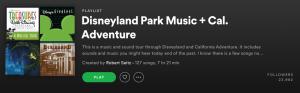 Disney Playlist on Spotify
