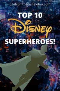 Top 10 Disney Superheroes