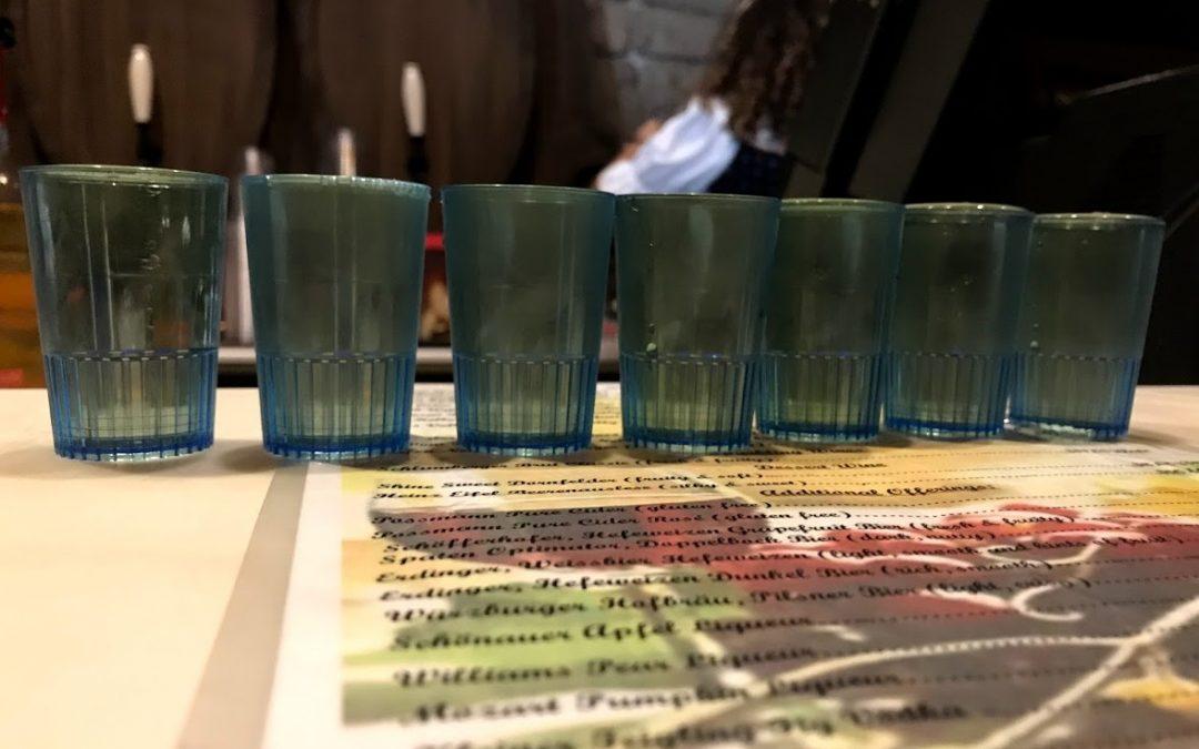 Drinking around the World Showcase