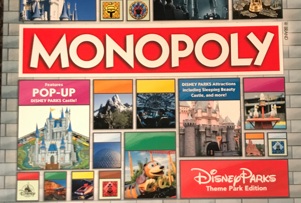 Disney Parks Theme Park Edition Monopoly: Who Wants to Own a Castle?