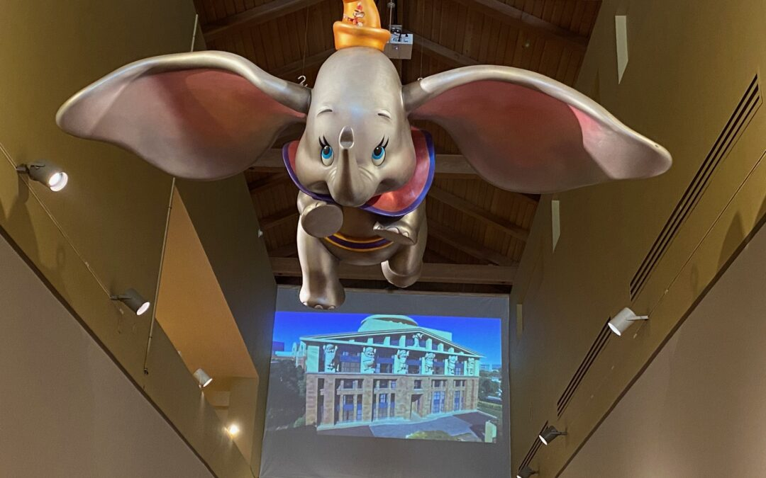 Inside the Walt Disney Archives at the Bowers Museum