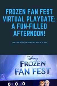 Frozen Fan Fest Virtual Playdate