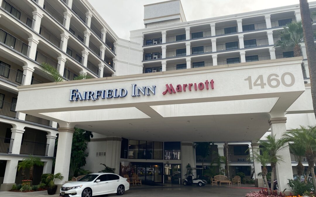 Fairfield Inn Marriott Anaheim Resort Stay During Disneyland Closure