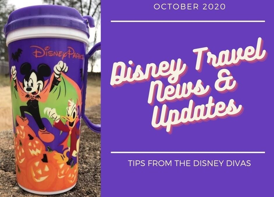 Disney Travel News & Updates  October 2020