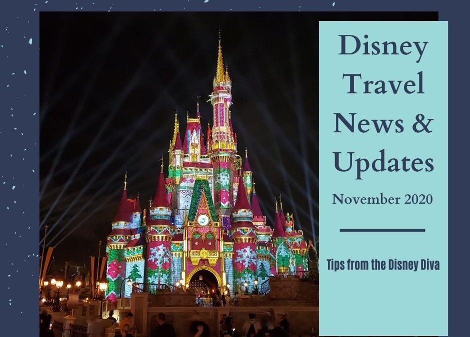 Disney Travel News & Updates November 2020
