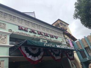Mortimers Market on Buena Vista Street