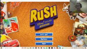 Rush: Disney Pixar misadventure