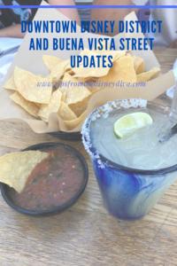 Downtown Disney District and Buena Vista Street Updates