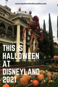 This is Halloween at Disneyland 2021